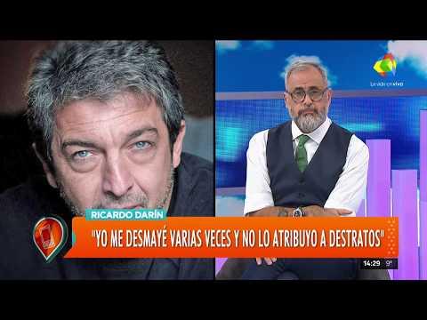 """""""Quiero pedirle disculpas publicamente a Valeria"""": Ricardo Darín habló en Intrusos"""