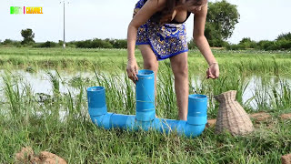 Jun 12, 2017 ... Please click more my videos also Subs. ... Primitive smart girl Catch fish Using nPlastic Pipe Trap - Easy to made trap ... to Water Snake