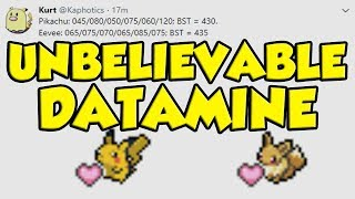 EVERY POKEMON 10% STAT BUFF!!! UNBELIEVABLE POKEMON LET'S GO DATAMINE INFO by Verlisify