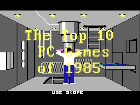 IBM PC - The first games '81-'91: Part 5 (1985)
