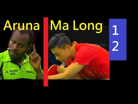 [TT Sngl] Aruna Quadri (Game 12) Ma Long (Quarter Final)