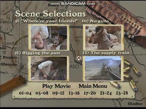 The Professionals 1999 DVD Menu Walkthrough