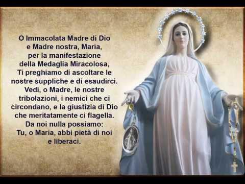 ss.rosario per le grazie di cui abbiamo bisogno alla madonna della medaglia miracolosa