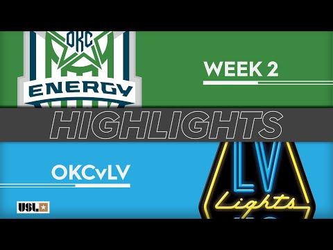 Оклахома Сити Энерджи - Las Vegas Lights 2:1. Видеообзор матча 17.03.2019. Видео голов и опасных моментов игры