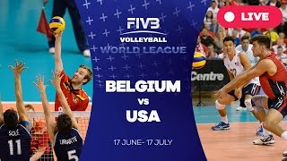Belgium United States  City new picture : Belgium v United States - Group 1: 2016 FIVB Volleyball World League