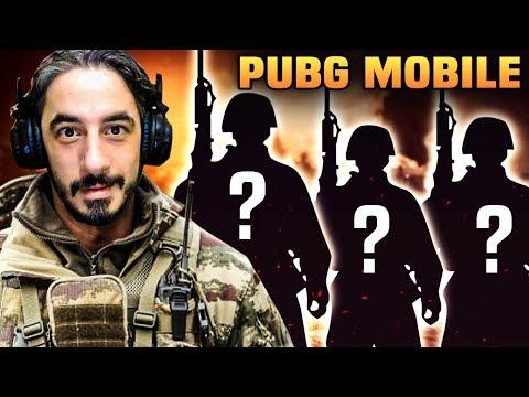 RASTGELE TAKIMLA OYNAMAK !! - PUBG Mobile