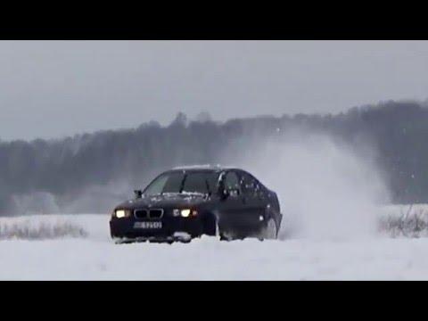 BMW e46 316i winter drift