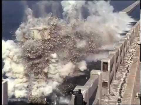 Demolition of a Bridge. Was destroyed in a few seconds