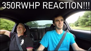 SCARING MY DAD'S FRIEND In My Mustang GT!!!