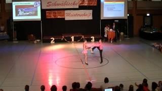 Antonia Schmid & Julian Minks - Schwäbische Meisterschaft 2013