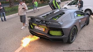 BEST of Top Marques Monaco 2014 ! Flames | Revs | Accelerations - 5000 Subscribers Special - YouTube