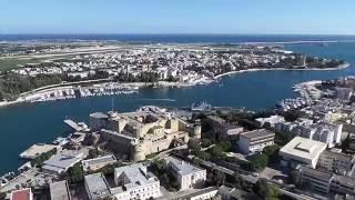 Brindisi Italy  city images : Volo radente sulla mia città Brindisi (Italy)