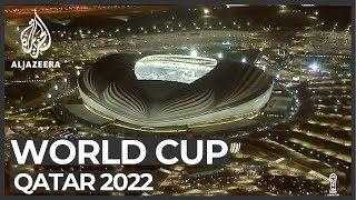 World Cup 2022: Qatar inaugurates Al Wakrah Stadium