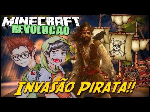Minecraft: A REVOLUÇÃO - INVASÃO PIRATA! #5