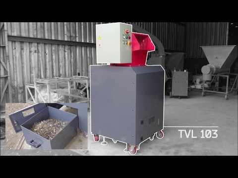 Triturador de Vidros para reciclagem TVL 103