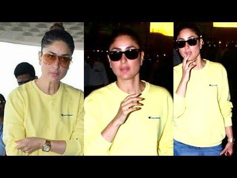 Kareena Kapoor Looks Gorgeous | Back In Mumbai Fro