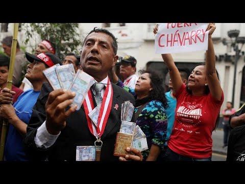 Περού: Διαδηλώσεις κατά της διαφθοράς