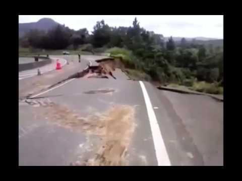 BR- 376 km 303 Mauá da Serra sentido Ortigueira em meia pista