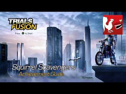 fusion - Jack and Geoff show you have to get the Squirrel Scavengers Achievement Guide in Trials Fusion. RT Store: http://roosterteeth.com/store/ Rooster Teeth: http://roosterteeth.com/ Achievement...