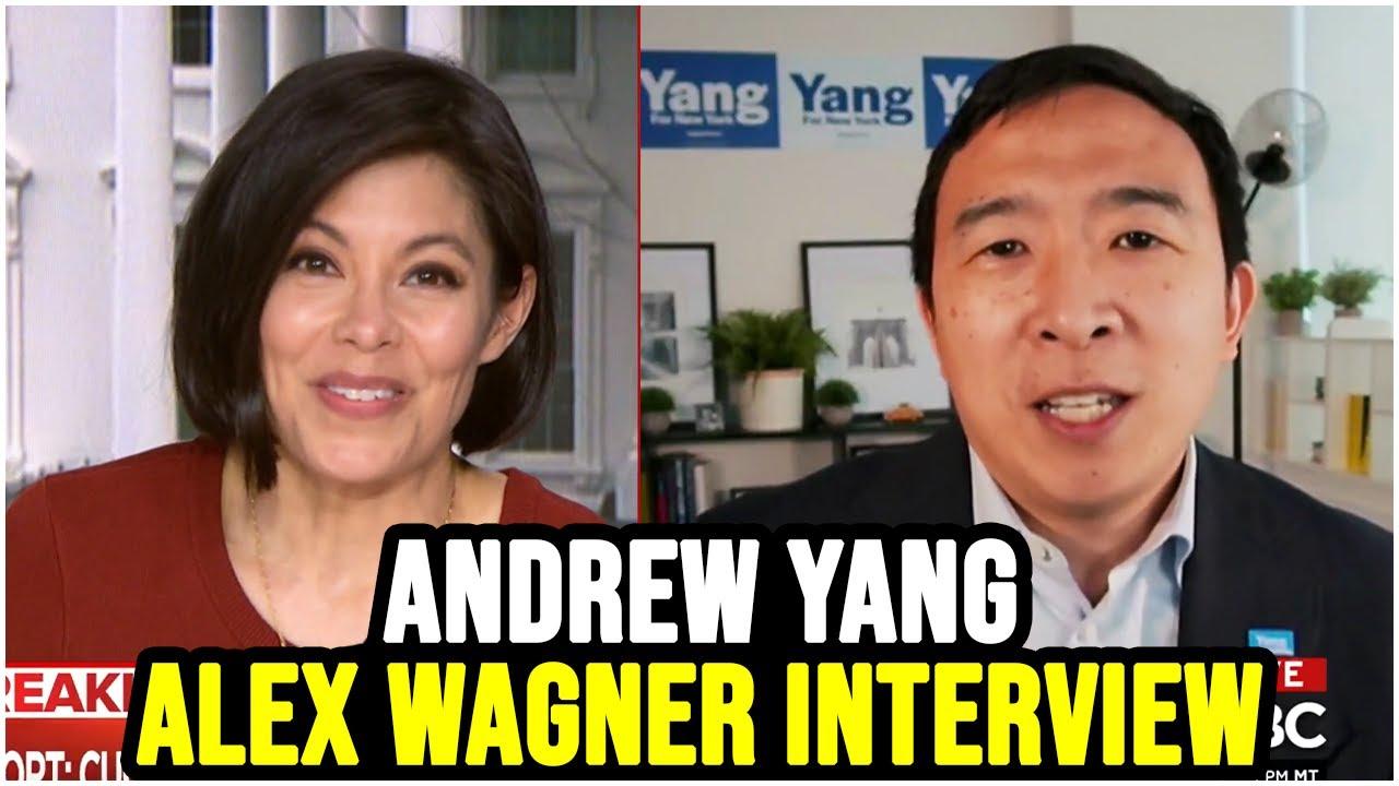 Andrew Yang on MSNBC Deadline w/ Alex Wagner