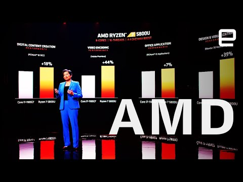 AMD's CES 2021 keynote in 4 minutes