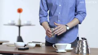 HOW TO MAKE A GREAT COFFEE AT HOME -- MR PORTER & FERNANDEZ AND WELLS - YouTube