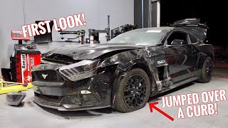 Rebuilding a CRASHED Mustang GT! by TJ Hunt