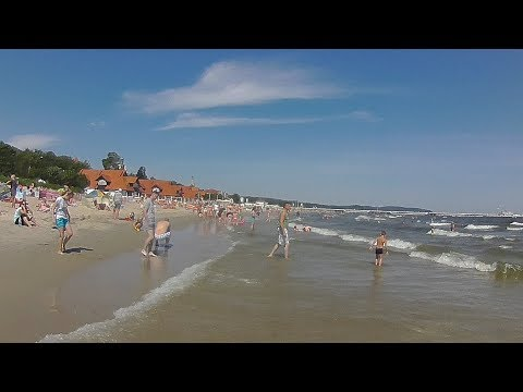 Sopot Beach by wearable camera