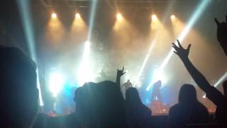 The mighty Meshuggah playing the song Lethargica at the Enmore Theatre in Sydney Australia on March 12th 2017