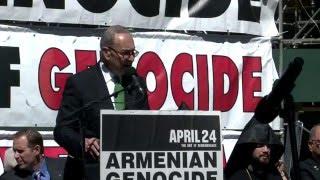 Interview with Senator Chuck Schumer at 101st Commemoration of Armenian Genocide