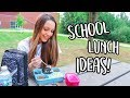 Video Easy and Healthy Lunch Ideas for Back To School!