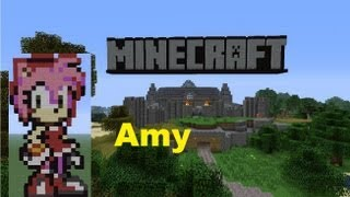 Minecraft Pixel Art: Amy Rose Tutorial