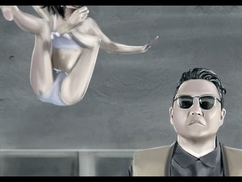 Speed Painting 11: Gentleman (Psy)