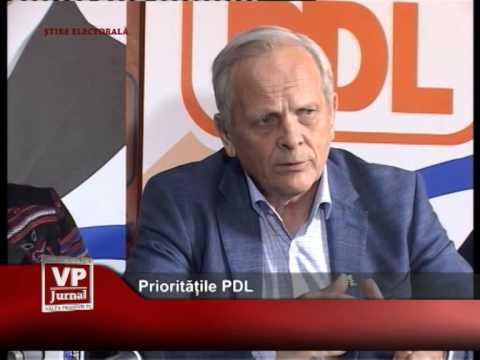 Prioritățile PDL