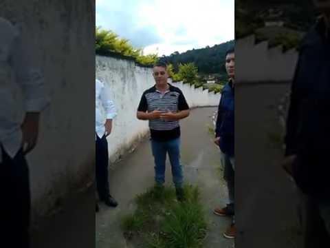 Prefeito Arizinho em visita a escola Professora Maria Nerea Rampim.