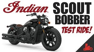 2. 2019 Indian Scout Bobber Test Ride!