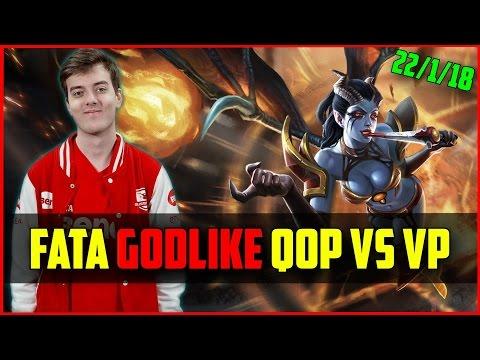 C9.FATA- Godlike QOP vs Virtus Pro @ Dota Pit