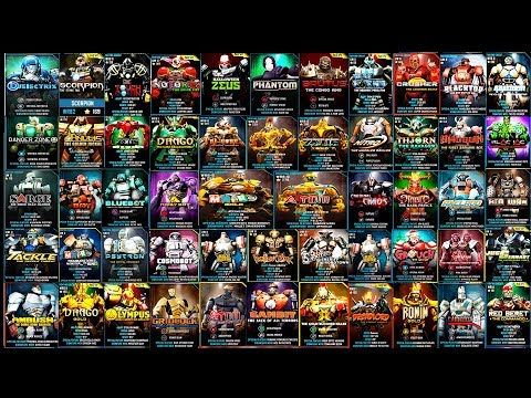 Real Steel WRB FINAL ALL ROBOTS VS ZEUS King Robots Series (Живая Сталь)