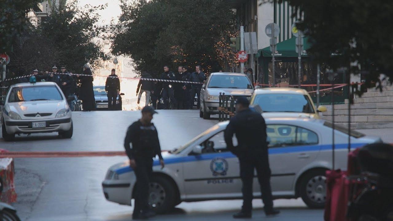 Έκρηξη έξω από τον Ιερό Ναό Αγίου Διονυσίου στο Κολωνάκι
