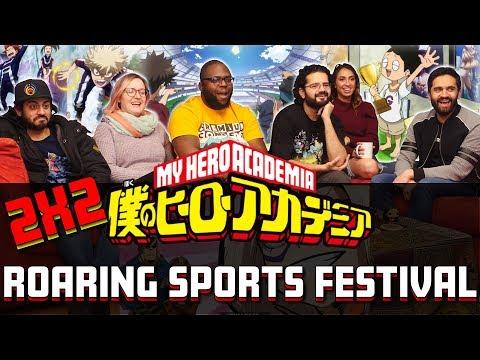 My Hero Academia - 2x2 Roaring Sports Festival - Group Reaction