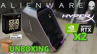 UNBOXING PC: i9 9980XE - Sli RTX 2080 Ti + Benchmark / Area 51 - ALIENWARE