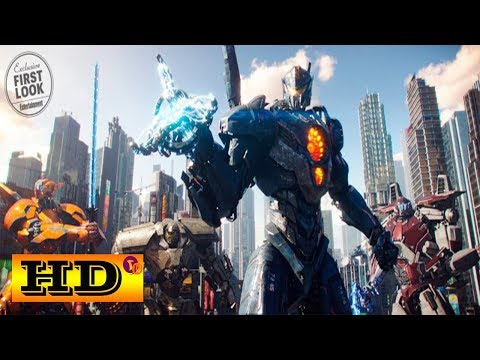 Pacific Rim 2 : Uprising Official Trailer 2018 HD John Boyega, Adria Arjona, Action Sci-Fi Movie
