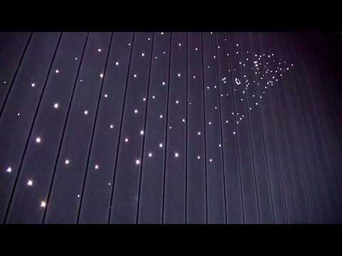 Zestaw Fugi - oświetlenie w deskach na tarasie, podświetlenie tarasu, podświetlenie podłogi na zewnątrz