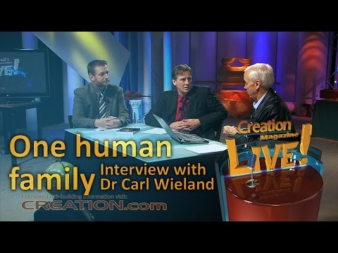 One human family — an interview with Dr Carl Wieland (Creation Magazine LIVE! 3-21)