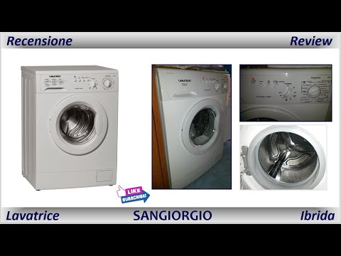 Recensione Lavatrice SANGIORGIO - (Meccanica)
