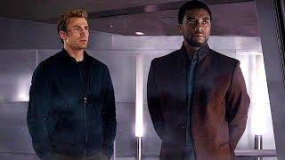 Download Video Steve Rogers & T'Challa - Wakanda Scene (End Credits) Captain America: Civil War - Movie CLIP HD MP3 3GP MP4