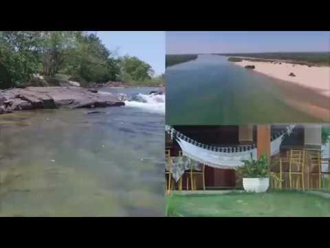Arquipélago do tropeço com Rosa de Fogo em Peixe Tocantins