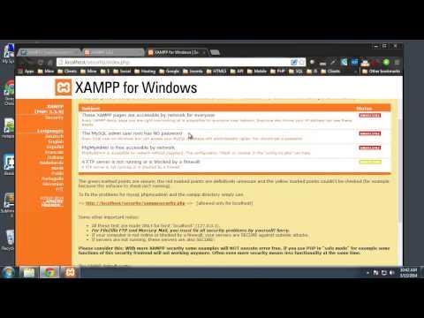xampp tutorial