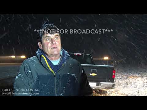 12-23-2017 Mt. Vernon, MO I-44 Accident and SOT interview from Snow