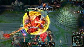 Pha Pentakill chấp trụ nhà lính cực bá đạo của Darius